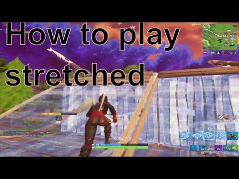 how to get stretched resolution in fortnite pc-0