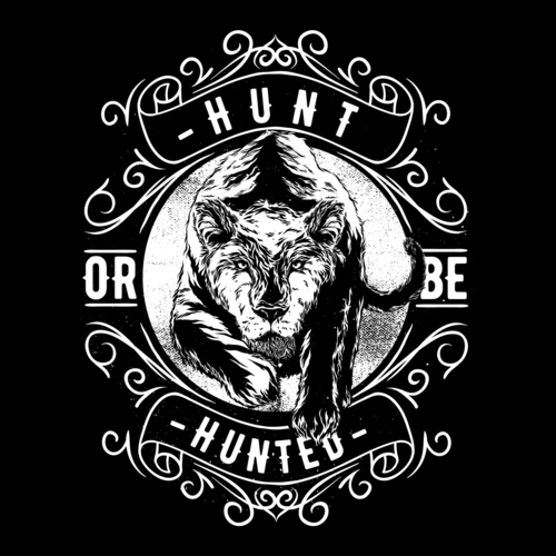 hunt or be hunted-1