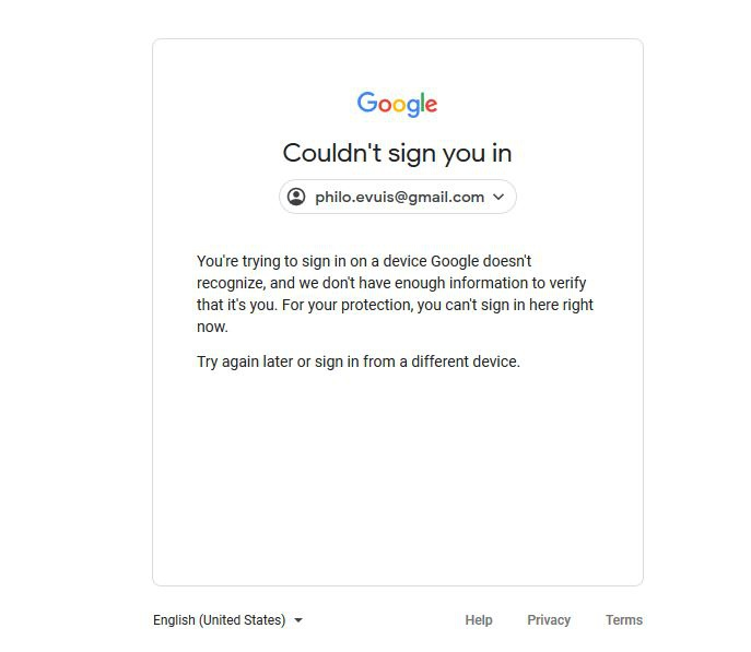 can't sign into google account-1