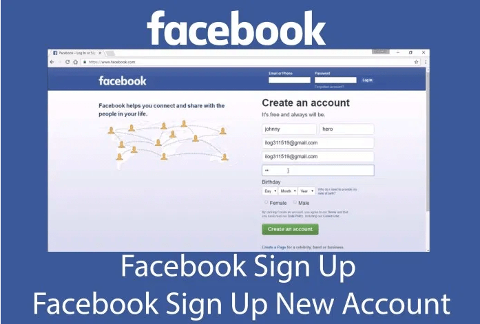 facebook sign up page-2